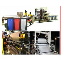 Buy cheap Fast Cup PP Sheet Extrusion Line , PS Thermoforming Plastic Sheet Extruder from wholesalers