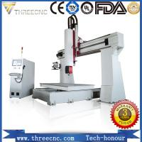 Buy cheap Professional 5 axis cnc wood router for 3D products TM6090-5axis. threecnc from wholesalers