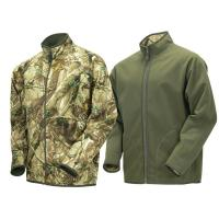 Buy cheap Water-repellent Coverstitch Multi-Functional Reversible Fishing Camo Jacket With Two Side Pockets from wholesalers