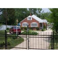 Buy cheap Ornamental Metal Railings Automatic Security Gates Commercial For Courtyard Fence from wholesalers