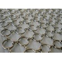 Buy cheap Decoration Stainless Steel Ring Mesh Drapery  For Room Partitions Curtain from wholesalers