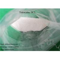 Buy cheap USP Local Anesthetic Agents Tetracaine HCL CAS 136-47-0 for Reliver Pain from wholesalers