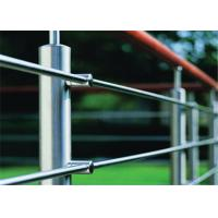 Buy cheap Prima Building Stainless Steel Railing System Rod Bar Holder For Large Modern Hotels from wholesalers