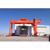 Buy cheap FEM/DIN Double Girder Gantry Crane   Capacity: 10t, 20/5t, 32/5t, 50/10t, or other Lifting Height: 10m, 12m or other from wholesalers