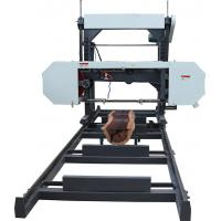Buy cheap Portable saw mill, wood mill bandsaw, log sawing electric saw machine from wholesalers