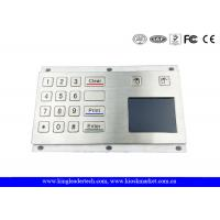 Buy cheap Industrial Metal Numerical Keypad Touchpad for Harsh Envirement from wholesalers
