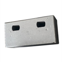 Buy cheap 63HRC double-hole hook plate Wear Plates for broken machine from wholesalers