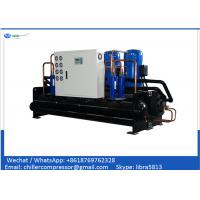 Buy cheap 30 tons Package Water Cooled Scroll Chiller with Copeland R410A R407c Compressor from wholesalers