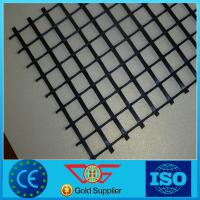 Buy cheap Fiberglass geogrid/glass fiber geogrid with CE certificate product
