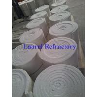 Quality Ceramic Insulation Blanket , Sound Absorption Ceramic Fiber Refractory for sale