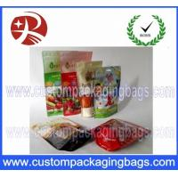 Buy cheap Dry Fruits Nuts Packaging Bags With Zipper With Hanger Hole Plastic Bag from wholesalers