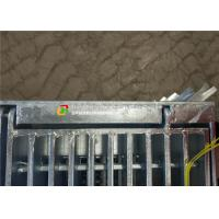 Buy cheap Hinge / Bolt Steel Grate Drain Cover Simple Lines For Sewage Treatment Plant product