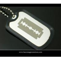 Buy cheap Best price China supplier wholesale seattle seahawks stainless steel custom dog tags from wholesalers