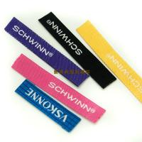 Buy cheap Colored Damask Apparel Brand Woven Labels , Woven Name Labels For Clothing from wholesalers