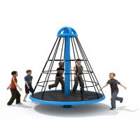 Buy cheap Wear Resistant Pyramid Rope Climbing Frame / Elementary School Playground Equipment from wholesalers