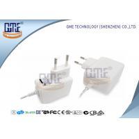 47Hz - 63Hz AC DC Power Adapter EU Plug White 50000 Hours MTBF