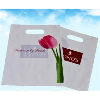 Buy cheap Plastic Shopping Bags With Handles , Custom Plastic Merchandise Bags from wholesalers
