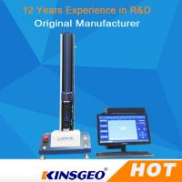 Buy cheap 70kg Horizontal Computer Control Peel Adhesion Tester For Max 120mm Plastic Film from wholesalers