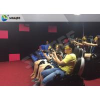 Buy cheap Electric 7D Cinema System multi - screen Luxury Seats In Museum , Mall product