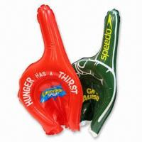 Buy cheap Inflatable Cheering Stick in Hand Shape, with Gloves Function from wholesalers