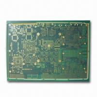 Buy cheap 14-layer PCB with 3.7/4mil Outer Layer and 5mil Annular Ring from wholesalers