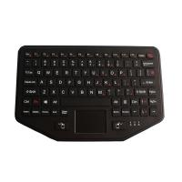 Buy cheap Fixable Rugged Backlighted Vehicle keyboard with touchpad from wholesalers