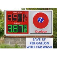 Buy cheap Electronic 6 inches gas price led sign for Fuel Station Price Changing from wholesalers