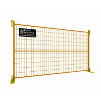 Buy cheap 6' × 10' CA Temporary Fencing from wholesalers