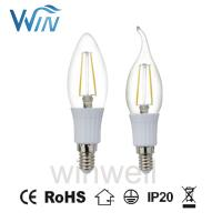 Buy cheap C32 C35 LED Candle bulb E12 E14 3W 4W 6W 7W LED Filament Candle Bulb from wholesalers