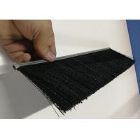 Buy cheap Nylon Bristle Metal Channel Strip Brushes Aluminium Holder For Dust Removal from wholesalers