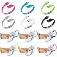 Buy cheap 2015 New Micro USB Cable Wrist Band Data phone charging line with factory price from wholesalers