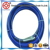 Buy cheap SAE 100 R7 synthetic fiber reinforced orange cover thermoplastic hydraulic rubber hose from wholesalers