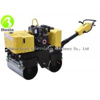 Buy cheap Mini Walking Behind Vibratory Road Roller With Gasoline Or Diesel Motor FYL600 from wholesalers