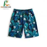 Buy cheap Wholesale breathable print own design swimsuit custom made polyester sublimation printing surf mens boardshorts from wholesalers