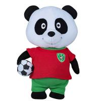 Buy cheap Adorable Animated Plush Christmas Toys Panda Shape PP Cotton Filling from wholesalers