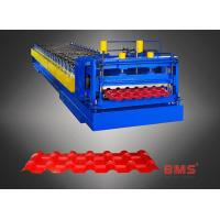 Buy cheap 960 Type Steel Plate Glazed Tile Forming Machine , Metal Roofing Roll Former from wholesalers