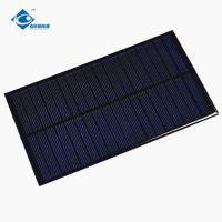Buy cheap 1.7W 9V Weatherproof Epoxy Resin Solar Panel ZW-15085 Lightweight Silicon Solar from wholesalers