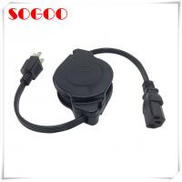 Buy cheap Custom Length Retractable Power Cord / Power Cable Assembly For Hair Straightener from wholesalers
