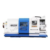 Buy cheap Swing over bed 800 large bore pipe threading cnc lathe for oil industry(QK1219) from wholesalers