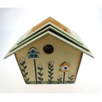 Buy cheap Wooden bird small house handicraft garden and hausehold decoration from wholesalers