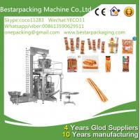 Buy cheap Bestar Weighting filling wrapping machine for finger sticks, Parmesan Breadsticks packing machinery from wholesalers