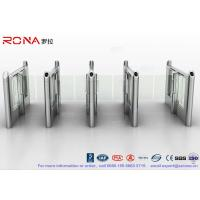 Buy cheap Stylish Optical Speed Gate Turnstile Bi - Directional Pedestrian Queuing Systems from wholesalers