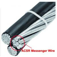 Buy cheap Bright Surface Galvanised Steel Wire Rope / ACSR Messenger Wire For ABC Cable from wholesalers
