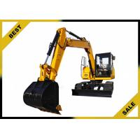 18.4kw Engine Power Mini Construction Equipment Excavator With 3 Cylinder High Performance