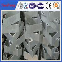 Buy cheap OEM industrial aluminium extrusion profile,Aluminium profile for cnc drilling/bended product