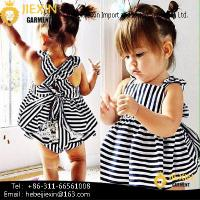 Buy cheap white and Black Strip Children Clothing Sets Hot Sale Baby 2 Pieces Clothes Outfits from wholesalers