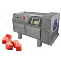 Buy cheap Commercial Use Meat Processing Machine , Meat Dicing Machine Automatic Operation from wholesalers