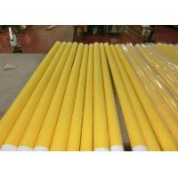 Buy cheap Low Elongation Monofilament Polyester Screen Printing Mesh With White And Yellow from wholesalers