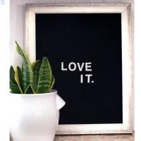 Buy cheap Amozon hot selling products decorative changeable felt letter board with oak frame and 300 letters from wholesalers