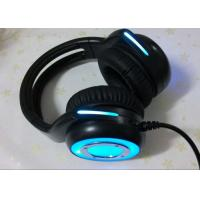 Buy cheap Cool wired stereo gaming headset noise cancelling microphone / blue gaming headphones from wholesalers